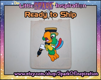 READY TO SHIP Cuties Three Caballeros Donald Duck Jose Carioca Tote Bag Commission