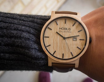 Maple Wood Watch - Möbius Timepiece