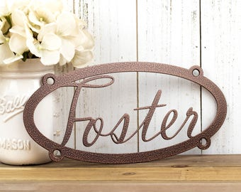 Custom Name Metal Sign | Child Name | Custom Sign | Personalized Sign | Metal Wall Art | Wall Hanging | Name Sign | Custom
