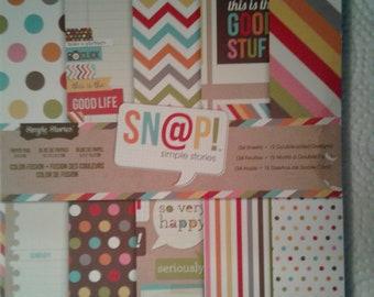 Snap 6x6 paper pad