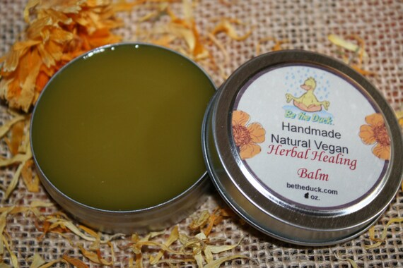 Vegan Herbal Healing Balm