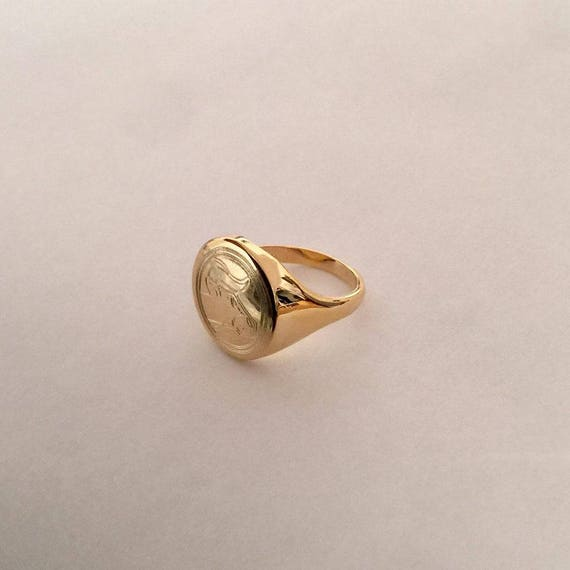 Gold Zodiac Virgo Sovereign Ring Pretty Little Thing 9qEfVlkY