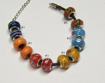 Your choice, so Pick a Pair of Euro Style Beads ... Pick from 6 different pairs ... item G3