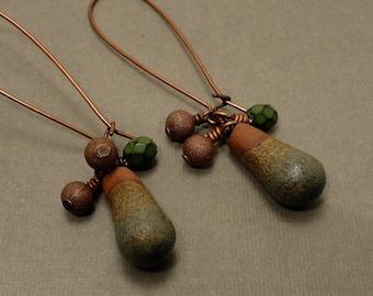 Earthy Terra Cotta Earrings