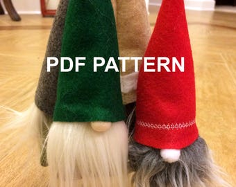 Holiday Gnome Ornament Pattern