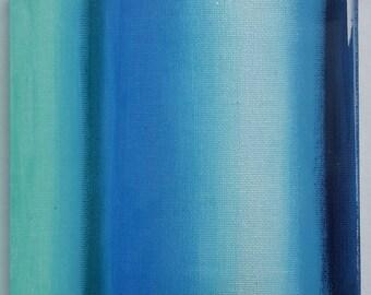 Photo Luminescent 'GLOW' ORIGINAL abstract painting (Title: Underwater Magic No.2)
