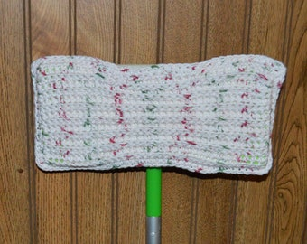Crochet Duster Cover Sweeper Cover, Mop Cover Reusable Cleaning Supplies