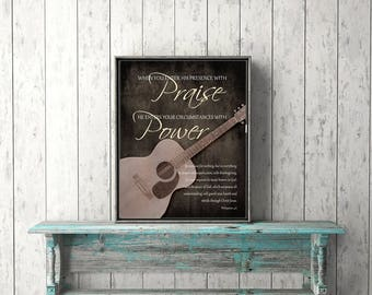 Worship leader gift etsy popular items for worship leader gift negle Image collections