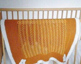 baby plaid handmade crochet