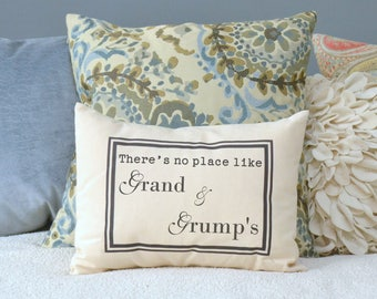 Mother's Day gift, Grandparent personalized, grandparent gift idea, grandparent Christmas pillow grandmother, gift for her *