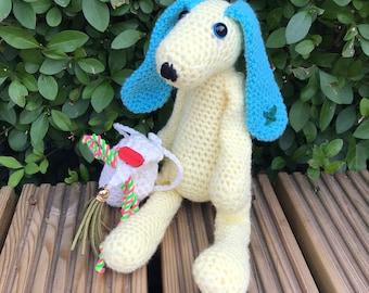 Crochet Bunny/Crochet Rabbit/Plush Bunny Rabbit/Plush Rabbit/Nursery Decor