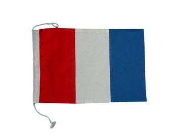 Letter T Cotton Nautical Signal Flag