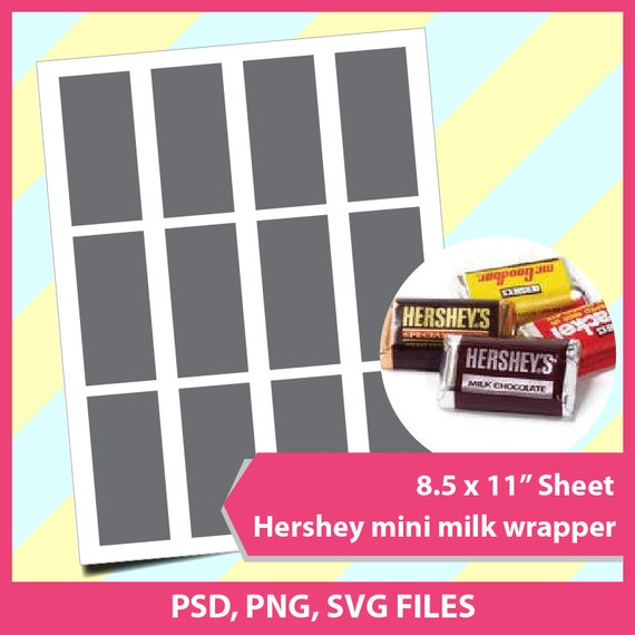 Unique Hershey Candy Wrapper Template Photo - Examples Professional ...