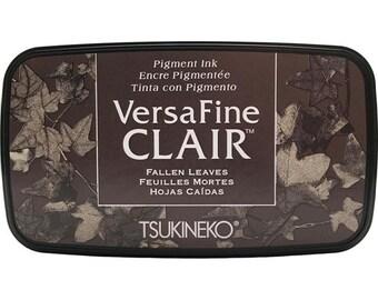 Tsukineko VersaFine Clair FALLEN LEAVES Ink Pad
