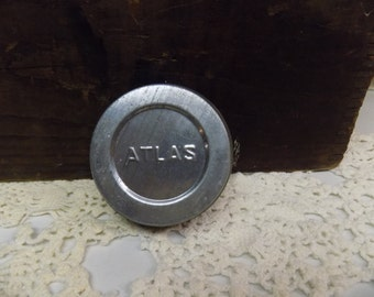 Vintage New Old Stock Atlas Zinc Lid for Standard or Regular Mouth Jars B129