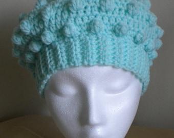 Crochet HAT PATTERN- Bobble