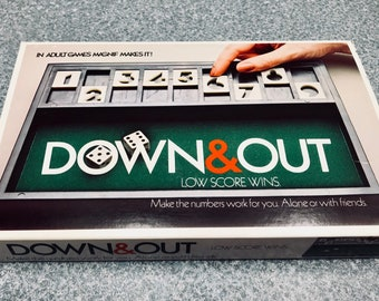Vintage  1979 Down & Out Game by Mag-Nif, Inc.