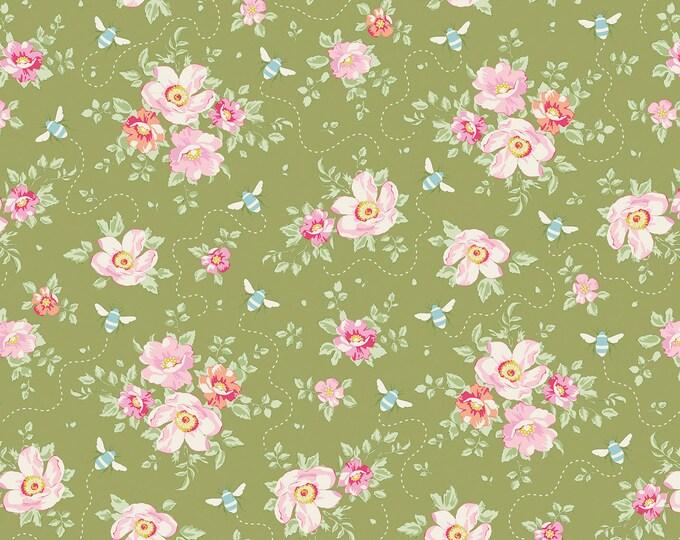TILDA - Bumblebee Rosa Mollis Green 481313