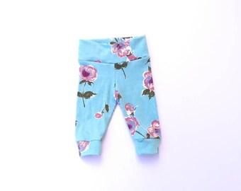 Toddler Leggings, baby leggings, baby girl leggings, toddler girl leggings, Hawaiian leggings