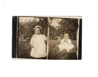 1909, antique African American rppc photo