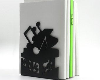 Music pianos Bookend, Modern And Minimalistic Style.