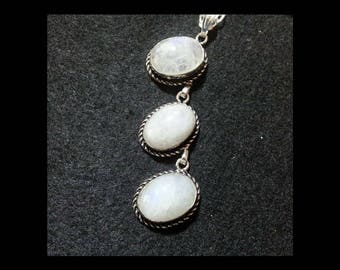 Moonstone Necklace + Free Shipping Worldwide, Crystal Jewelry, Crystal Healing Jewelry, Crystal Necklace, Moonstone Jewellery