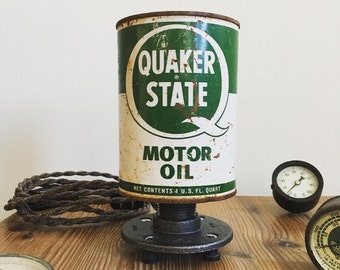The Clifton- Vintage Oil Can Lamp