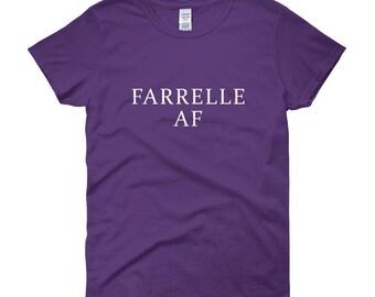 Farrelle AF Funny Unique Women's Short Sleeve T-Shirt