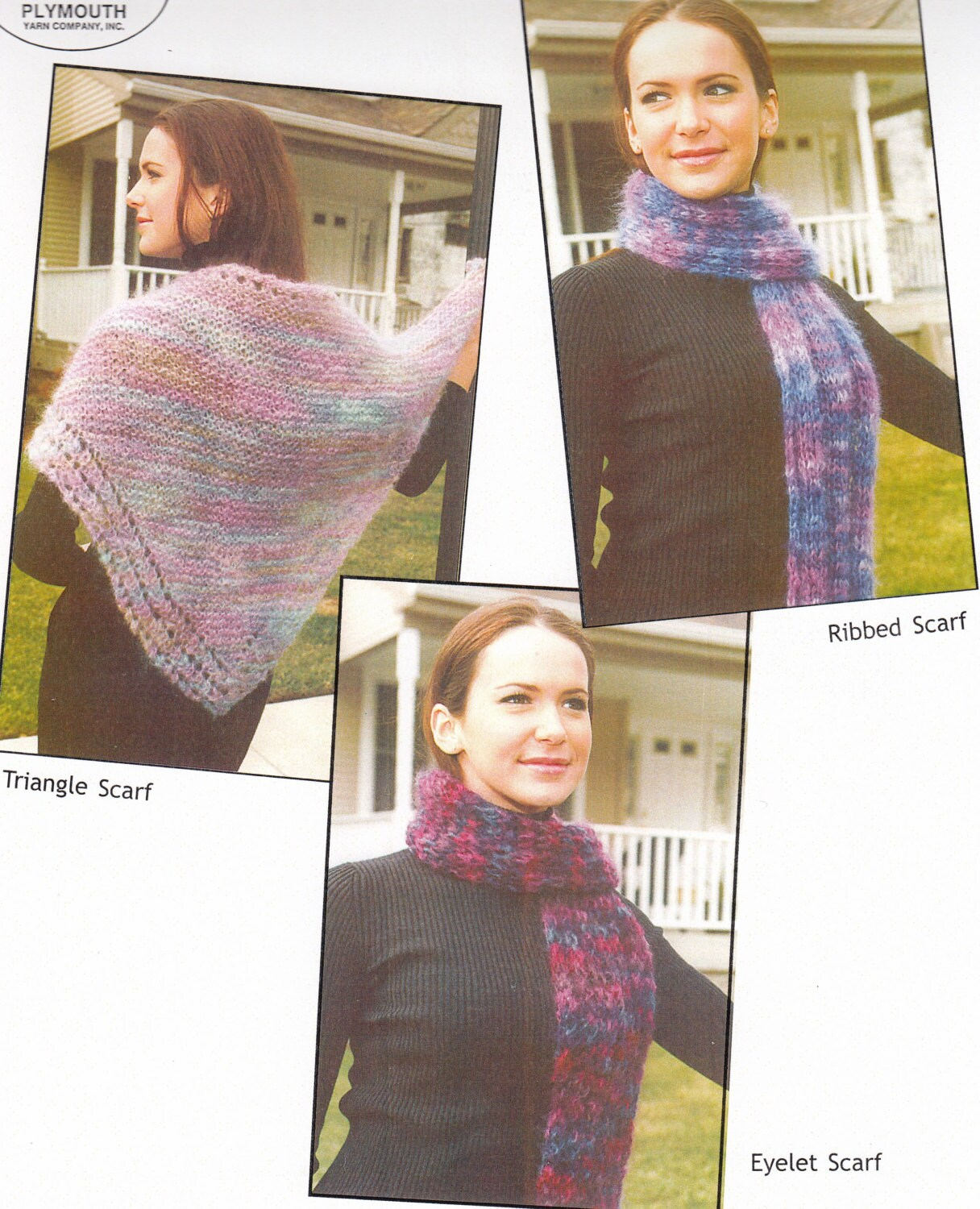 Mohair Scarf Knitting Patterns - Knitted Scarf Patterns - Hand Knit ...