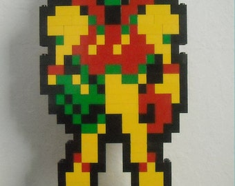 Samus Aran (Metroid) - LEGO Sculpture
