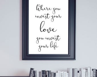Mumford and Sons, Mumford Lyrics, Awake My Soul, Awake My Soul Lyrics, Where You Invest, Mumford Poster, Print