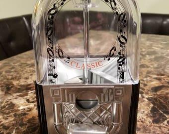 Vintage CAROUSEL Jukebox Gumball Machine Bank