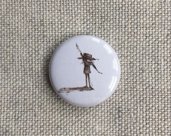 Diddy Woohoo. Pin-back Button Badge