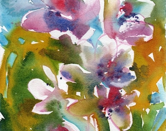 Presh Pick No.53, limited edition of 50 fine art giclee prints from my original watercolor