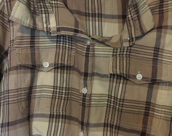 90s flannel barely worn!!!