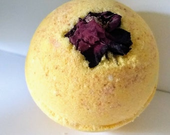Ring around the Rosie - Luxe Bath Bomb with a Rose surprise