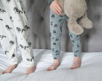 Cactus Leggings Baby and Toddler Sizes 3m - 3y