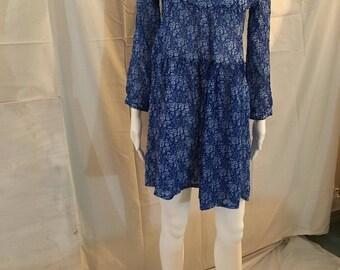 Blue Tunic Dress