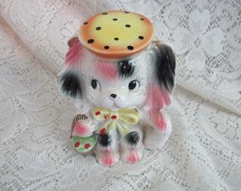 Maltese Puppy Dog Figurine