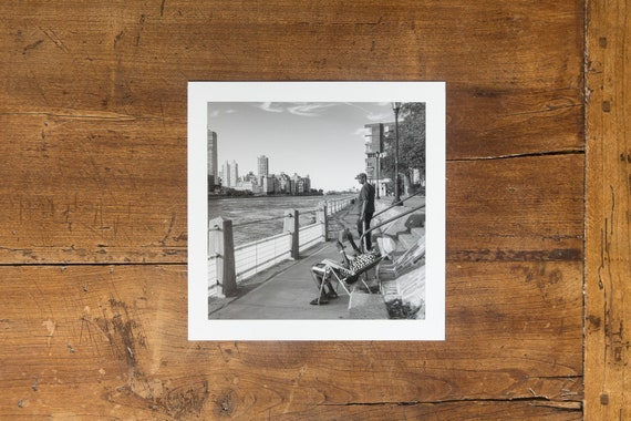 On the bank of the Hudson River - Fine art print