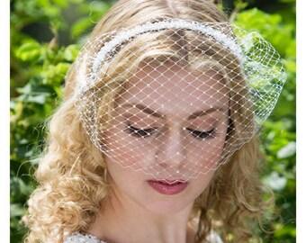 Becky - Birdcage veil