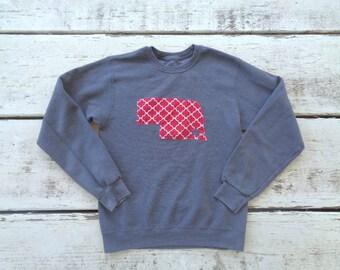 Nebraska Star Sweatshirt