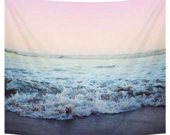 Beach Waves Tapestry