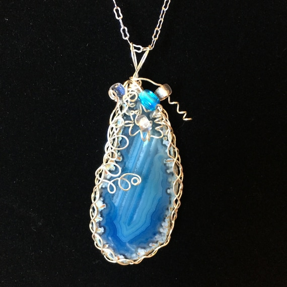 wire wrapped jewelry - Totallystonednwired.com