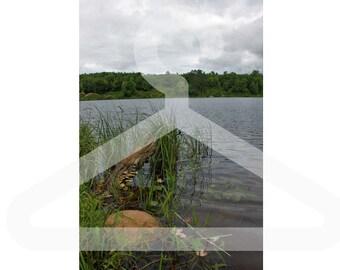 Secret Lake Portrait