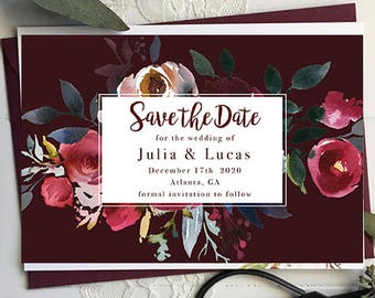 The Julia Save the Date