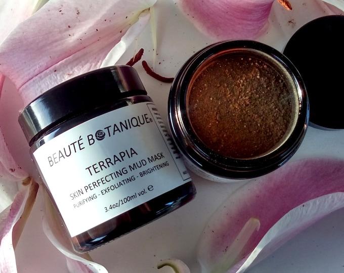 Featured listing image: TERRAPIA - Skin Perfecting Mud Mask - Detoxify, Exfoliate, Brighten!