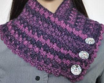 Enchanted Crochet Cowl Scarf