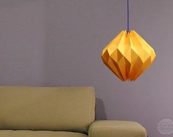 origami lamp: Sunny Diamond