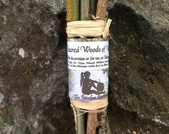 9 Sacred woods found in the wiccan rede used as bael fire lighters in Beltane celebrations, wiccan May Day rituals and as pagan altar decor